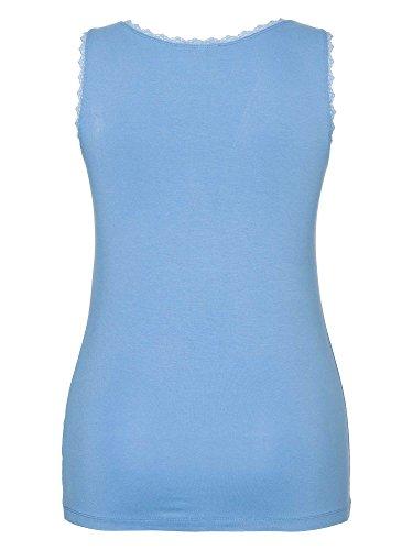 sheego Class Femmes Top Grande taille nouvelle collection bleu azur