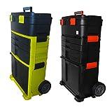 Generic ol Box Werkzeugkoffer, Kunststoff, mobiler Rollwagen, Werkzeug, Werkzeugkiste, Farbe: zufällig