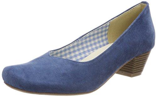 Andrea Conti Hirschkogel by Damen 3005706 Pumps, Blau (Jeans), 38 EU