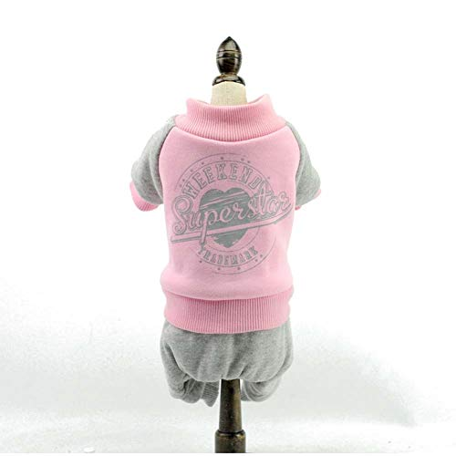 Hund Haustier Kleid, Hundebekleidung, Kleidung, Pullover, vierbeinigen Herbst und Winter Flut, Mode, niedlichen kleinen Hund Kostüm (Size : M)