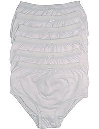 """cottonique femmes 6 paires de COMPLET culotte coton en choix de couleurs 36-54 """" GRANDES TAILLES"""