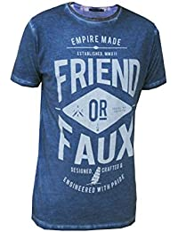 Friend Or Faux Crate Mens T Shirt Oil Based Graphic Print Tee