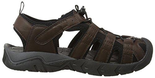 Gola Shingle 2 Sl, Sandales de Randonnée Homme Marron (Brown/Black)