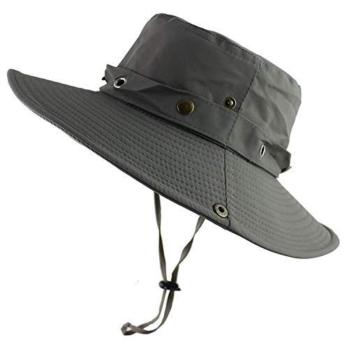 Hut Sommer Männer Frauen Outdoor Hüte Sonne UV Schutz breiter Krempe Militär Armee Angeln Wandern Taktische Kappe Columbia-mesh-hut