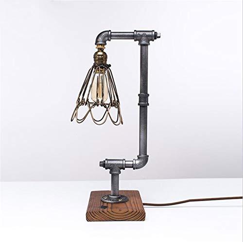NUO-Z Tischlampe Loft Industrie Feng Shui Rohr Lampe Amerikanischen Retro Kreative Beleuchtung Bar Cafe Dekoration Schreibtisch Lichter