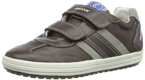 Geox JR VITA B J42A4B0TD22C Jungen Sneaker Braun (CHESTNUT/GREY C6064)