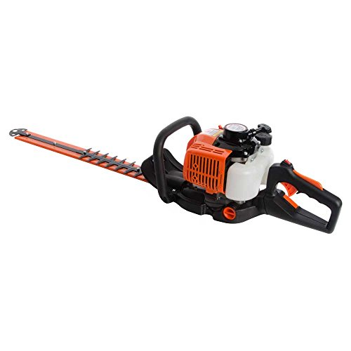 """26CC 24"""" PETROL HEDGE TRIMMER COMPLETE WITH 60CM BLADES for sale  Delivered anywhere in Ireland"""