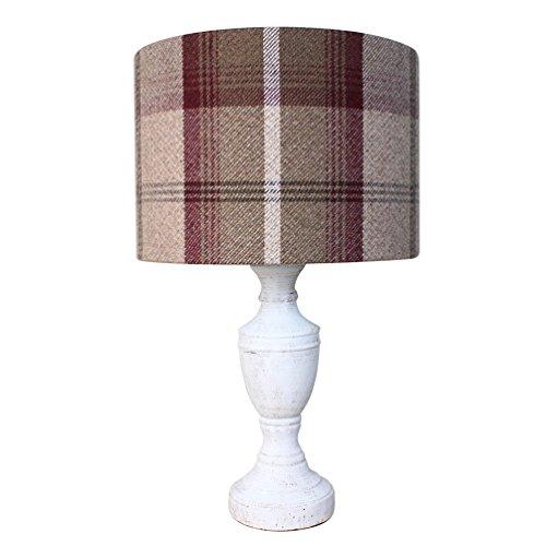 Balmoral Mulberry - Pantalla para lámpara de mesa (30 cm de ...