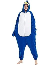 Hstyle Adulto Unisex Mamelucos Kigurumi Pijamas Animal Trajes De Cosplay De Dibujos Animados Ropa De Dormir Penguin