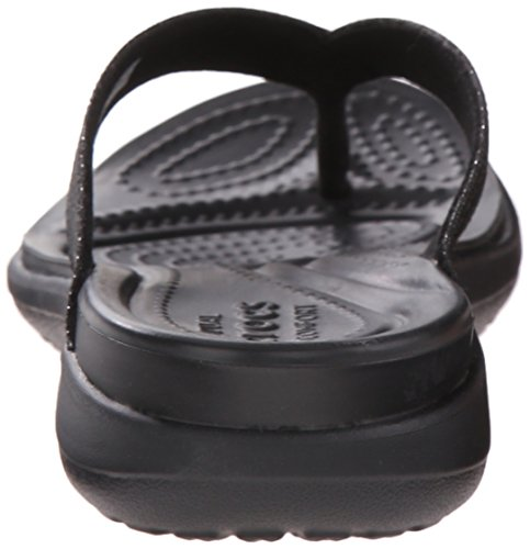 CROCS - CAPRI V - shimmer black Schwarz