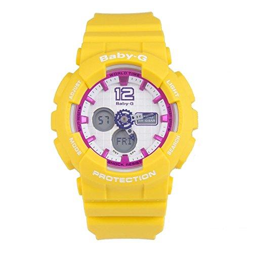 Casio Damas Baby-G Cuarzo: Batería JAPAN Reloj (Modelo de Asia) BA-120-9B