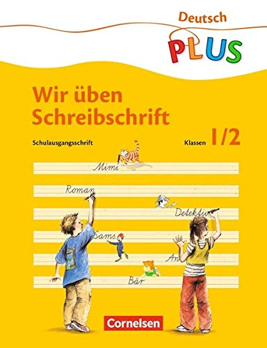 Deutsch plus - Grundschule - Lesen und Schreiben üben: ABC-Reise, neue Rechtschreibung, Übungsheft 'Wir üben Schreibschrift' (Abc In Schreibschrift)