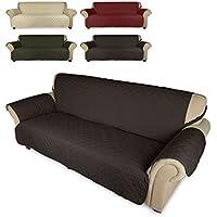 KINLO Funda de sofá Cubre sofá 3 plazas para Mascotas - Anti-rascado, Anti