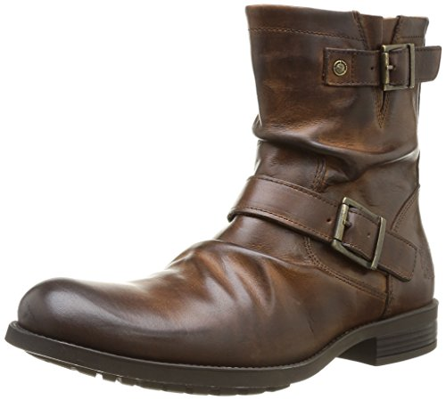 Base London Metal Waxy, Herren Halbstiefel Braun