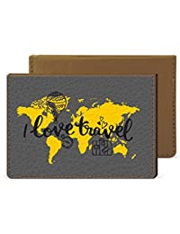 I Love Travel Credit Card Wallet By Robobull