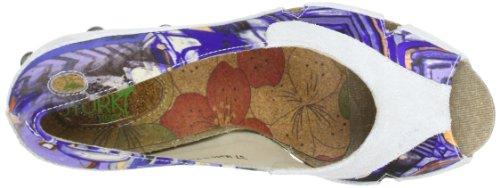 Stork Steps Handbag, Escarpins Bout ouvert femme Multicolore - Mehrfarbig (Off White)