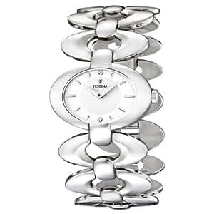Festina - F16547/1 - Montre Femme - Quartz Analogique - Bracelet Acier Inoxydable Argent