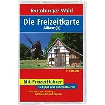 Die Allianz Freizeitkarte Teutoburger Wald 1:100 000
