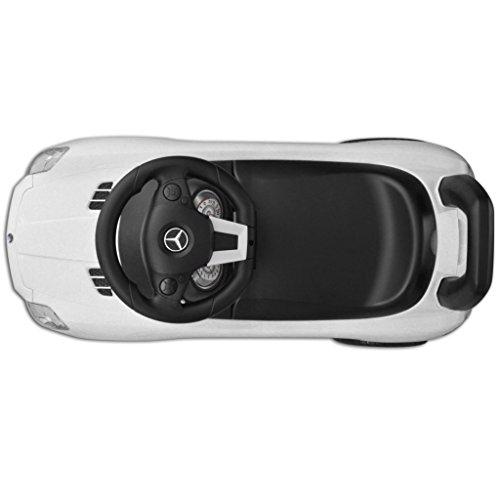 Vidaxl Mercedes Benz Coche Correpasillos Blanco Coche Infantil Ninos
