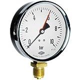 Manometer, NG100, 0-1bar, G1/2