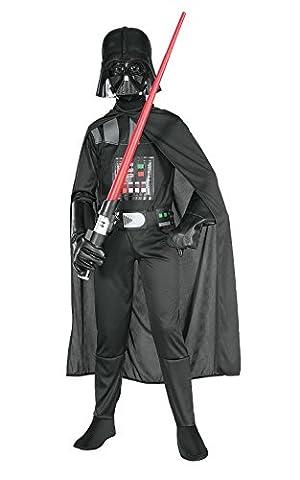 Rubies 3 882848 L - Darth Vader Kind Kostüm, Größe L