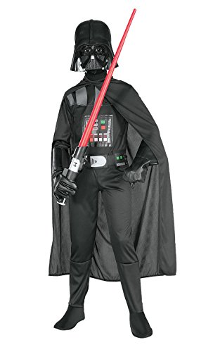 Rubies Deutschland 3 882009 S - Darth Vader Kind Größe (Disney Original Halloween Filme)