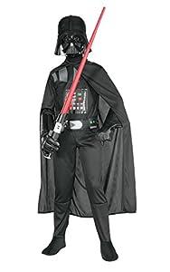 Star Wars - Disfraz de Darth Vader, para niños, talla 5-7 años (Rubies 882009-M)