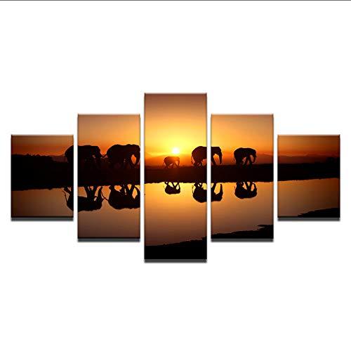 hhlwl Lienzo moderno HD Impreso Para la Sala de Arte de la...