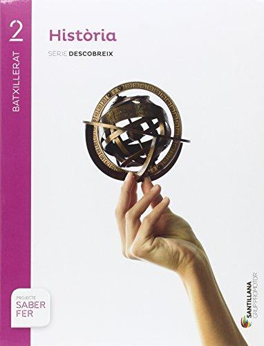 HISTORIA  SERIE DESCOBREIX 2 BTX SABER FER - 9788491302803 por Varios autores