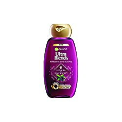 Garnier Ultra Blends Henna Blackberry Shampoo, 180ml