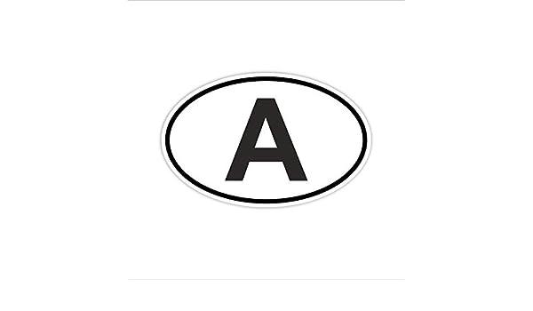 """Italien Länderkennzeichen /""""I/"""" 10x6,5cm Auto PKW Kennzeichen Sticker"""