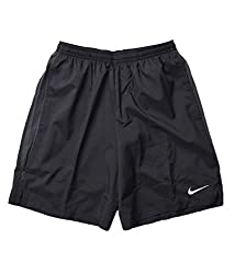 Nike Mens Polyester Short (Nk-Srt-S-01_Black_Large)