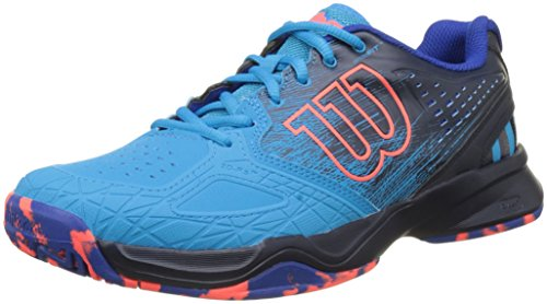 Wilson Wrs3224, Chaussures de Tennis Homme Bleu (Hawaiian Ocean / Navy Blazer / Fiery Co)