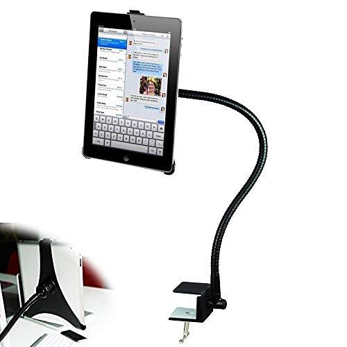 BESTEK - Soporte de sujeción para iPad Pro de 360 ° de rotación para escritorio/cocina, soporte de perno ajustable, para iPad Air/Air 2, iPad Mini 3 / Mini 2 / Mini