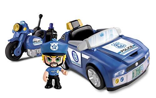 Pinypon Action - Policía Vehículos de Acción (Famosa...