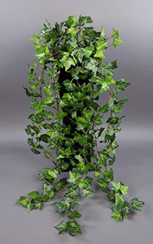 Seidenblumen Roß Waldefeubusch 90cm DA Kunstpflanzen künstliches Efeu Efeuranke kuenstliche Pflanzen Efeubusch