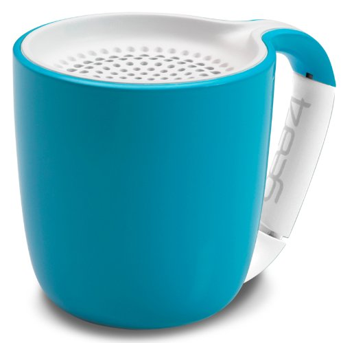 Gear4 Espresso Tragbarer Drahtloser Bluetooth Lautsprecher - Cyan Green Espresso-tasse