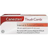 Canesten Thrush Combi Internal & External Creams, Complete Treatment