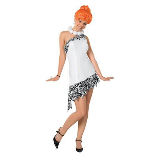 Für Erwachsene Wilma Feuerstein Kostüm - Damen-Kostüm Wilma Feuerstein, Gr.
