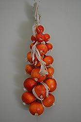 Zwiebel Knoblauch Deko-gemüse Für Die Küche, Dekoration Neu Ovp Verschiedene Variante (Zwiebel Orange)
