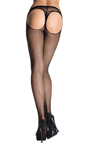 PANTIES LEG AVENUE NETWORK mit Durchbrüchen (Leg Avenue Netz-höschen)