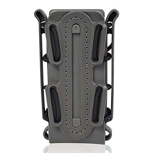 l Pistole Magazin Beutel Molle Gürtel Clips Taktische Fastmag Halter weiche Shell Tasche Singal Mag Carrier Jagd Airsoft Gear Fit für 45APC AK M4 Glock ()