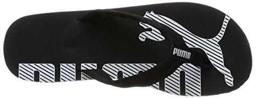 Puma Epic Flip V2, Sandales homme Noir (Black/White)