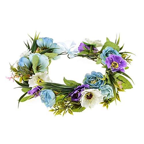 fréquent vente pas cher outlet à vendre Couronne Fleurs Violet