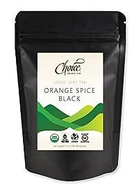 Choice ORGANIC TEAS Loose Leaf Tea, Orange Spice Black, 1 Pound