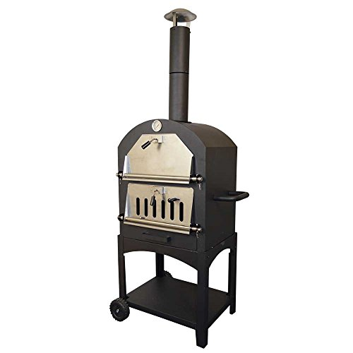 Outdoor Traditional Pizza Oven Garden Charcoal Barbecue Grill