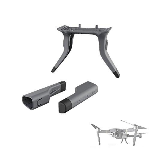 Preisvergleich Produktbild Hensych® Grau Erhöhte Verlängerte Landung Gear Support Sicherer Landungswinkel Schutzfolie für DJI Mavic Pro (Only Landing Gear)