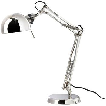 Ikea Lampada Da Lavoro, Argento