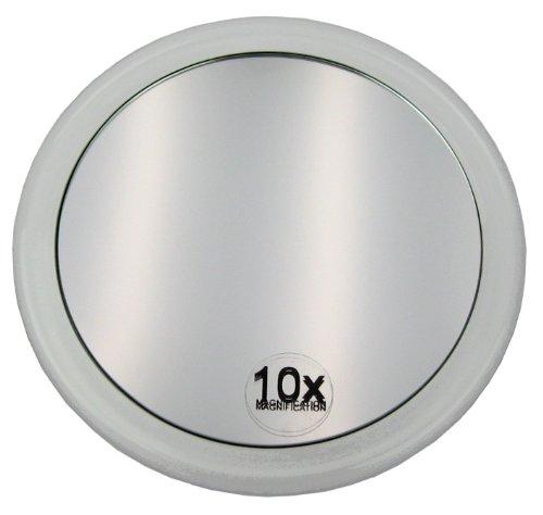 Fantasia - Miroir grossissant ( x 10) avec ventouse - Acrylique - ø 15 cm