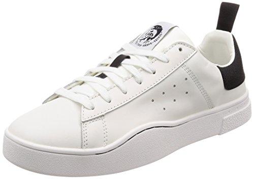 Diesel s-clever low, scarpe da ginnastica basse uomo, multicolore h1527, 45 eu